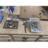 Laryngoscope, Scissors & Instrument Tray w. Misc Instruments