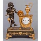 Vienna Empire ClockVienna Empire ClockVienna around 1830 | H 35 cm Fire-gilded and patinated