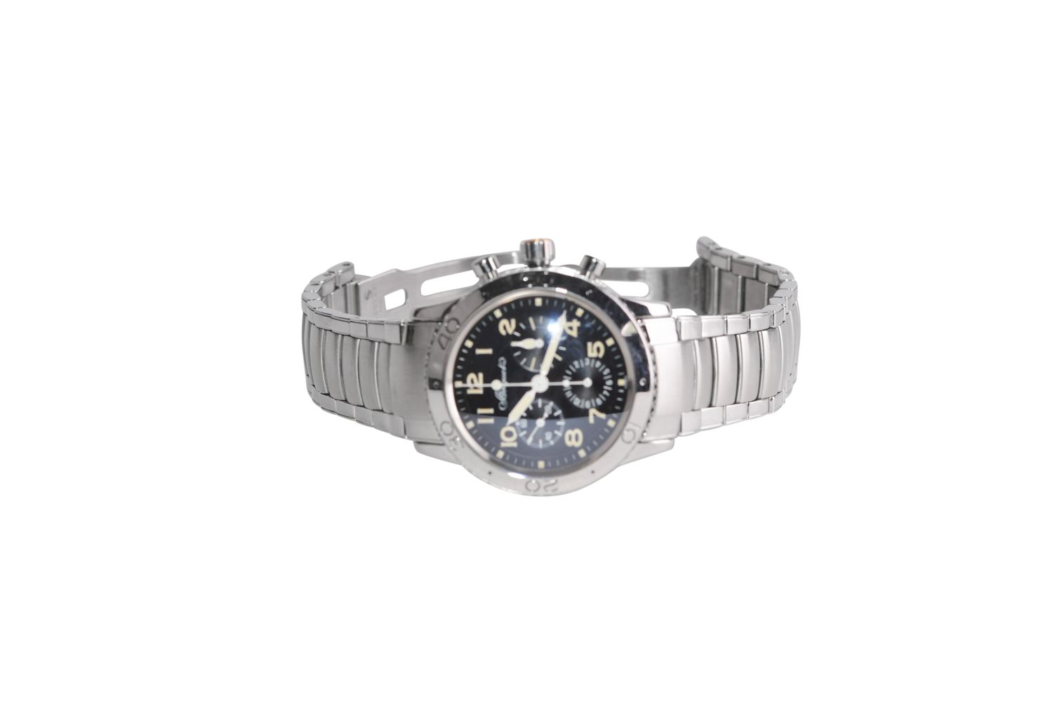 BREGUET Type XX AeronavaleSteel watch with steel strap automatic chrono 39 mm without box without - Bild 3 aus 5