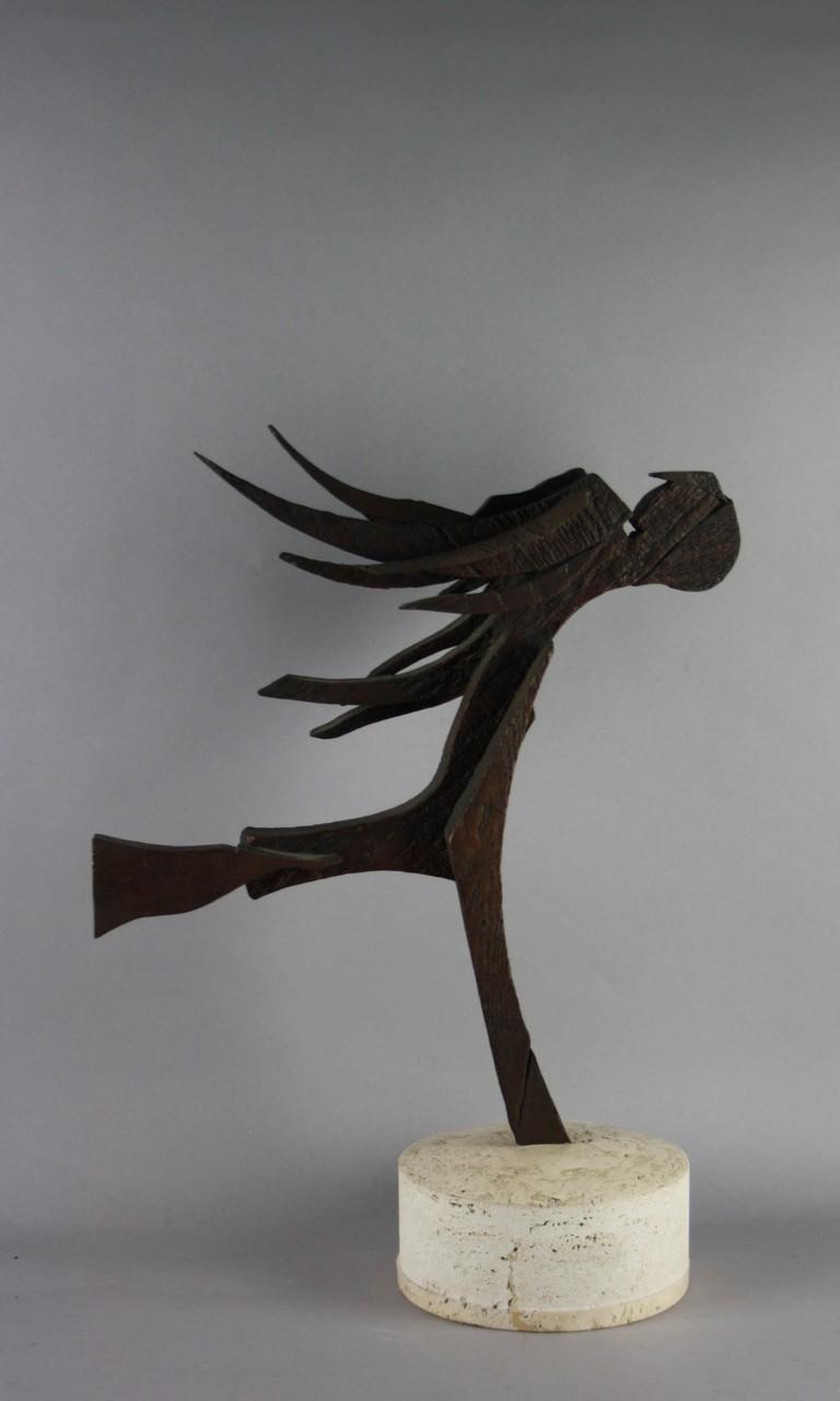 Lot 211 - CEROLI MARIO - Nato a Castel Frentano (Chieti) nel 1938. Scultura in bronzo a cera persa