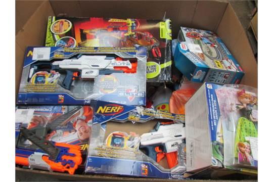 Over 50+ Various Kids Toys Inc Thomas The Tank Engine,Nerf Gun,Electric  Cars,Hot Wheels, ,Avange
