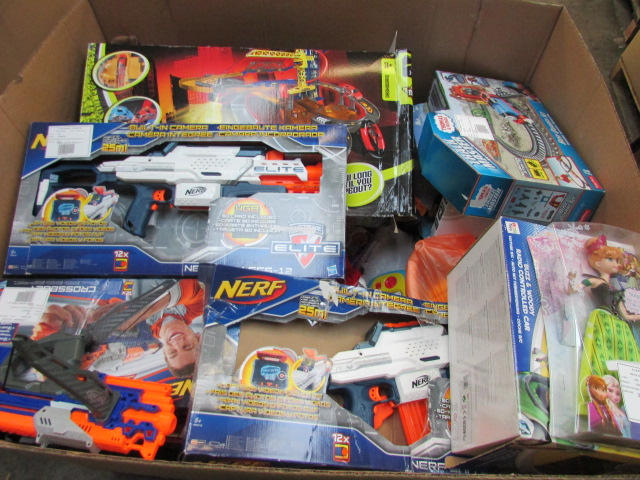 Lot 645 - Over 50+  Various Kids Toys Inc Thomas The Tank Engine,Nerf Gun,Electric Cars,Hot Wheels, ,