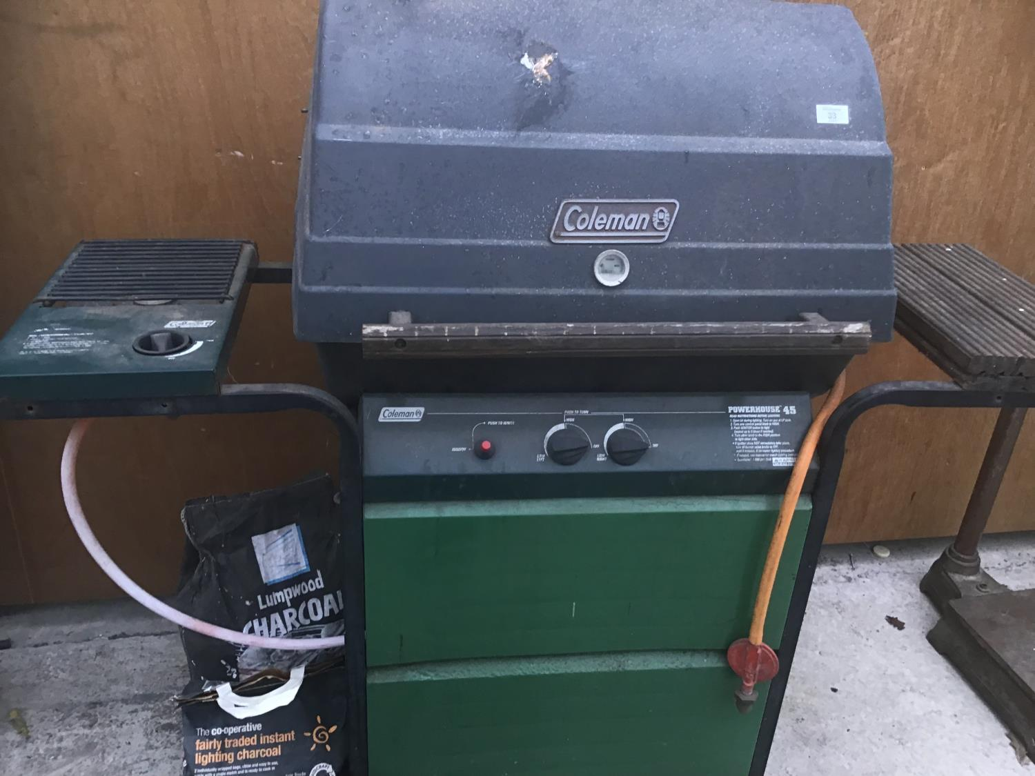 A COLEMAN GAS BBQ - Image 2 of 2