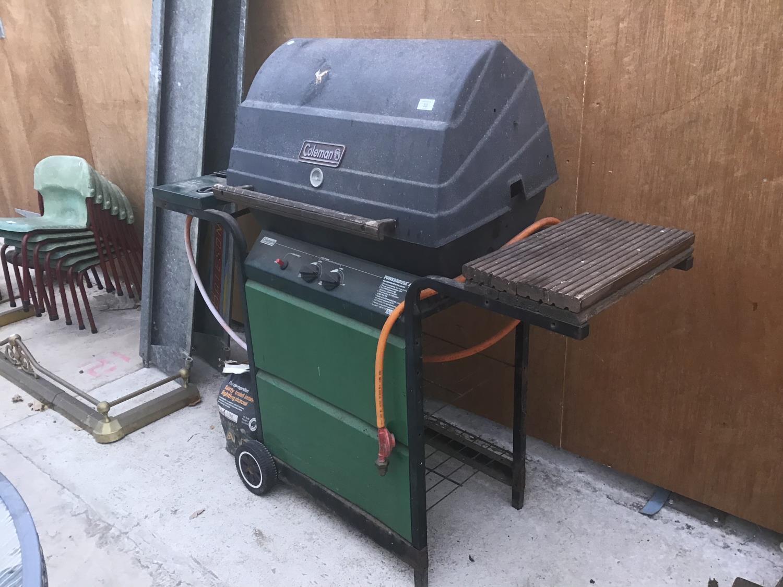 A COLEMAN GAS BBQ