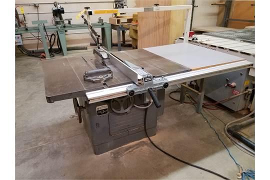 "Delta Rockwell 12"" – 14"" Tilting Arbor Saw, Model 34-395 w/ Delta"