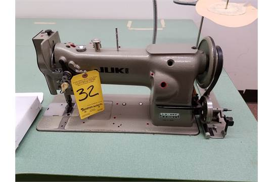 Juki Heavy Duty Industrial Sewing Machine Model DDL 40 WWalking Simple Juki Walking Foot Sewing Machine For Sale