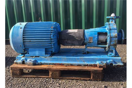 Ingersoll Dresser Type 80-50CPX315 Horizontal Centrifugal Pump