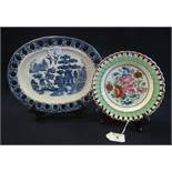 Two items of Welsh pottery to include;