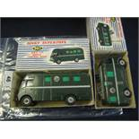 Dinky Supertoys 967 BBC TV mobile control room van,