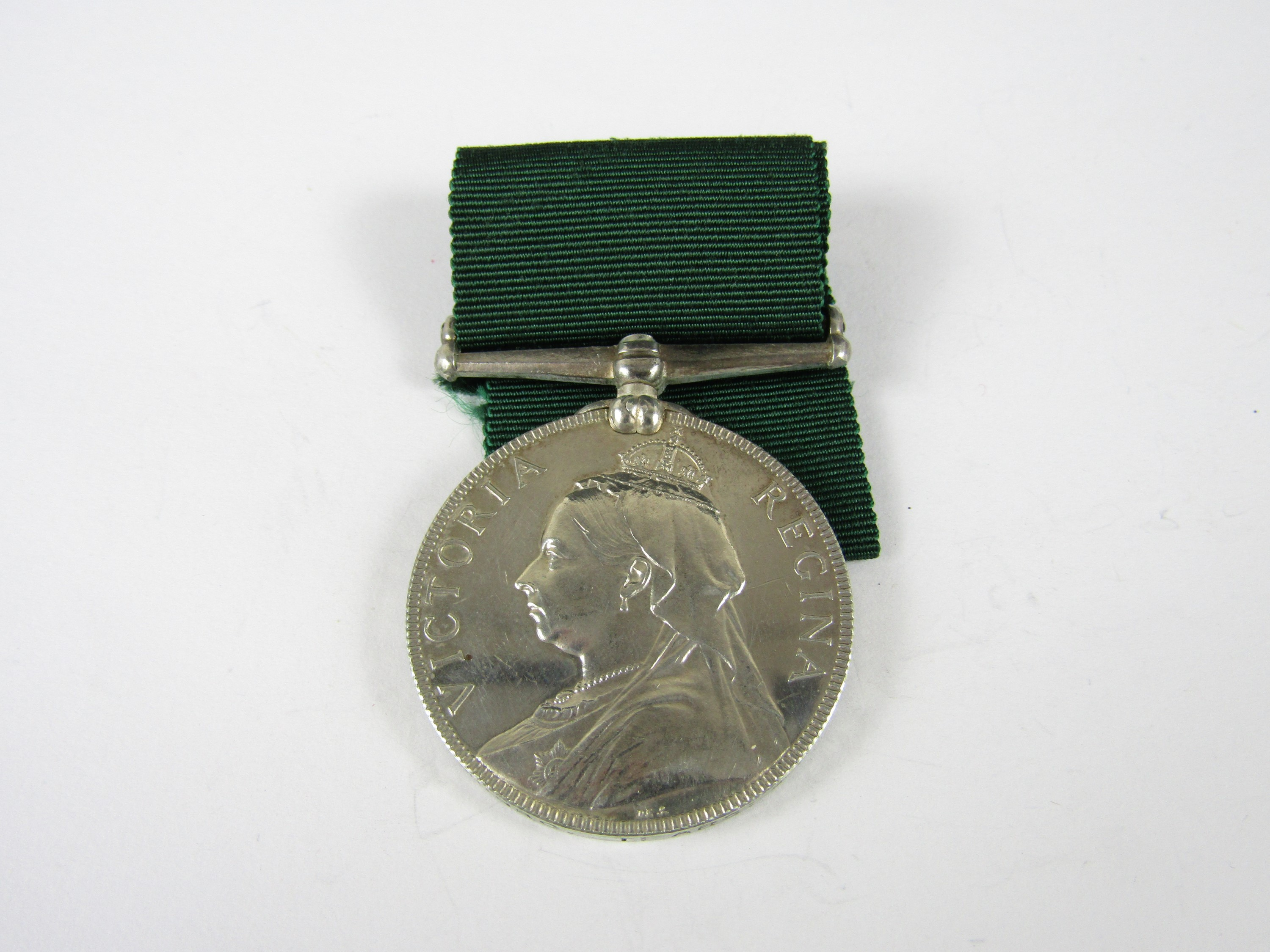 Lot 54 - A Victorian Volunteer Long Service medal to 123 Corp J Munro, 1 Arg & Bute Vol Art