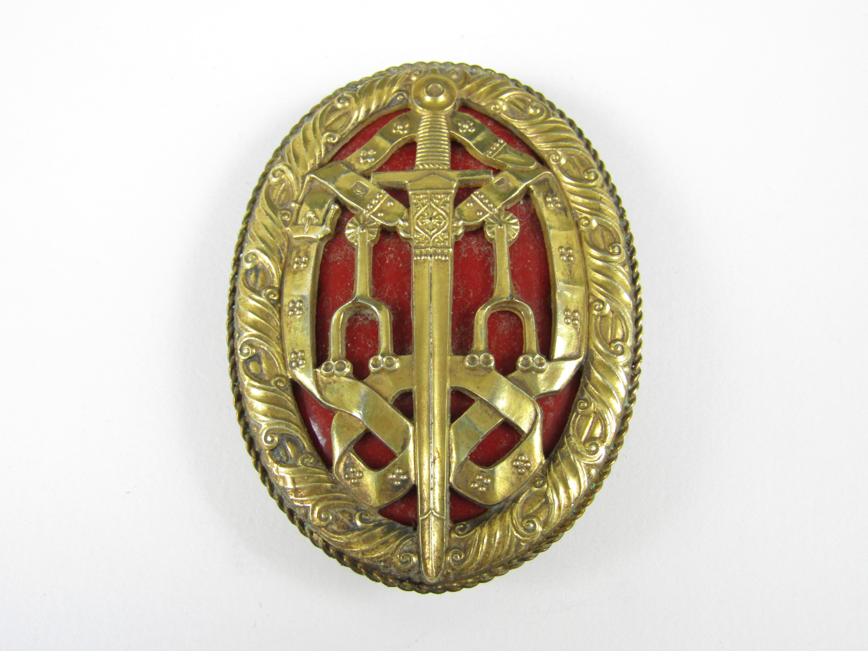 Lot 30 - A Knight Batchelor's Badge, 1948