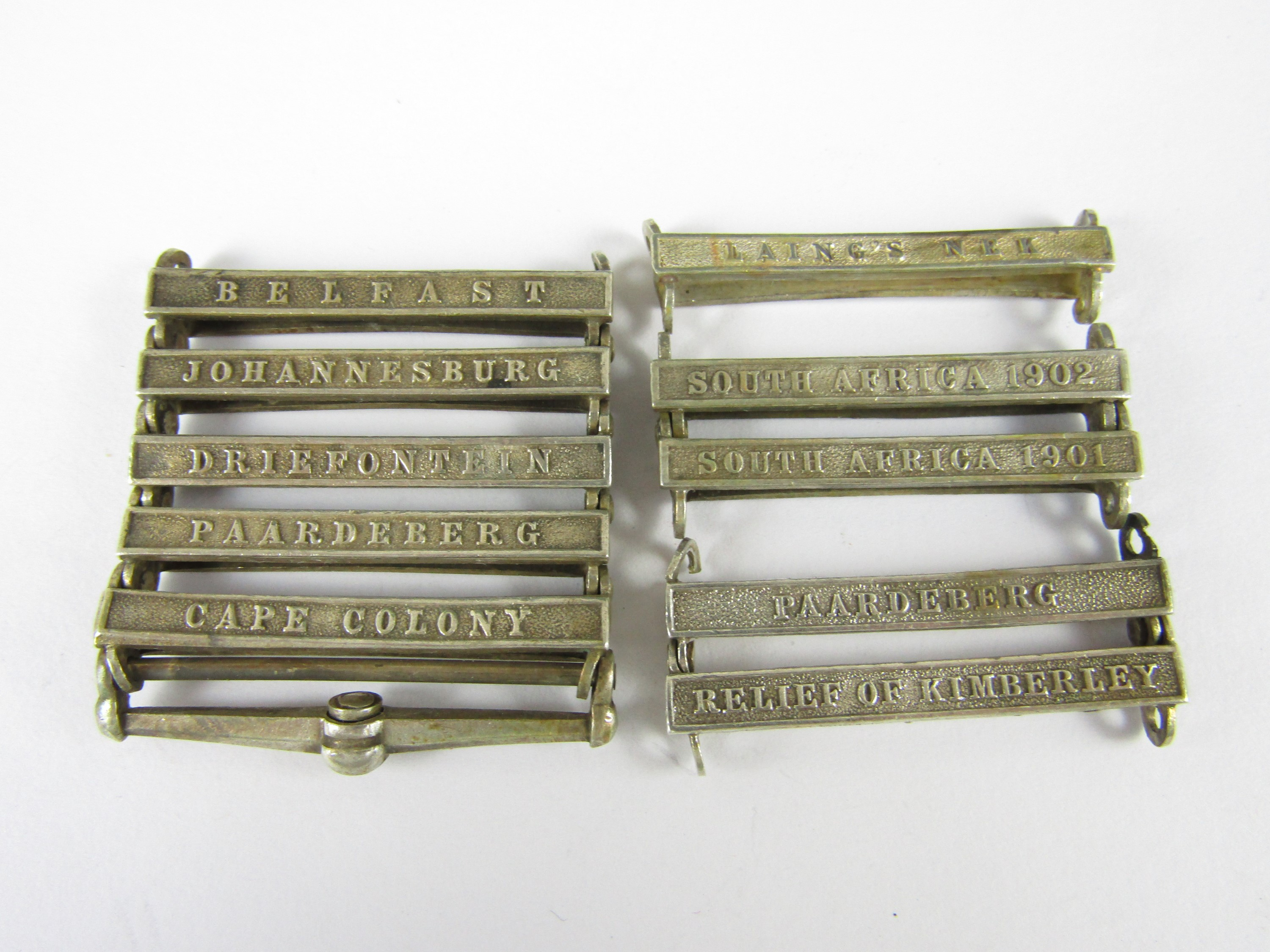 Lot 41 - Various South Africa medal clasps
