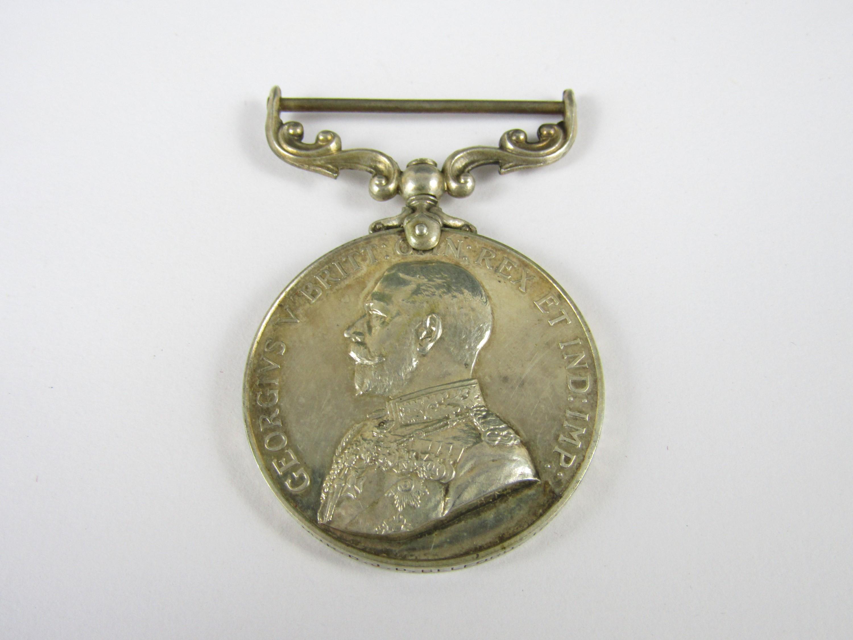 Lot 25 - A George V Meritorious Service Medal to 36490 S MJR D J D Belford, 104 / F A RAMC