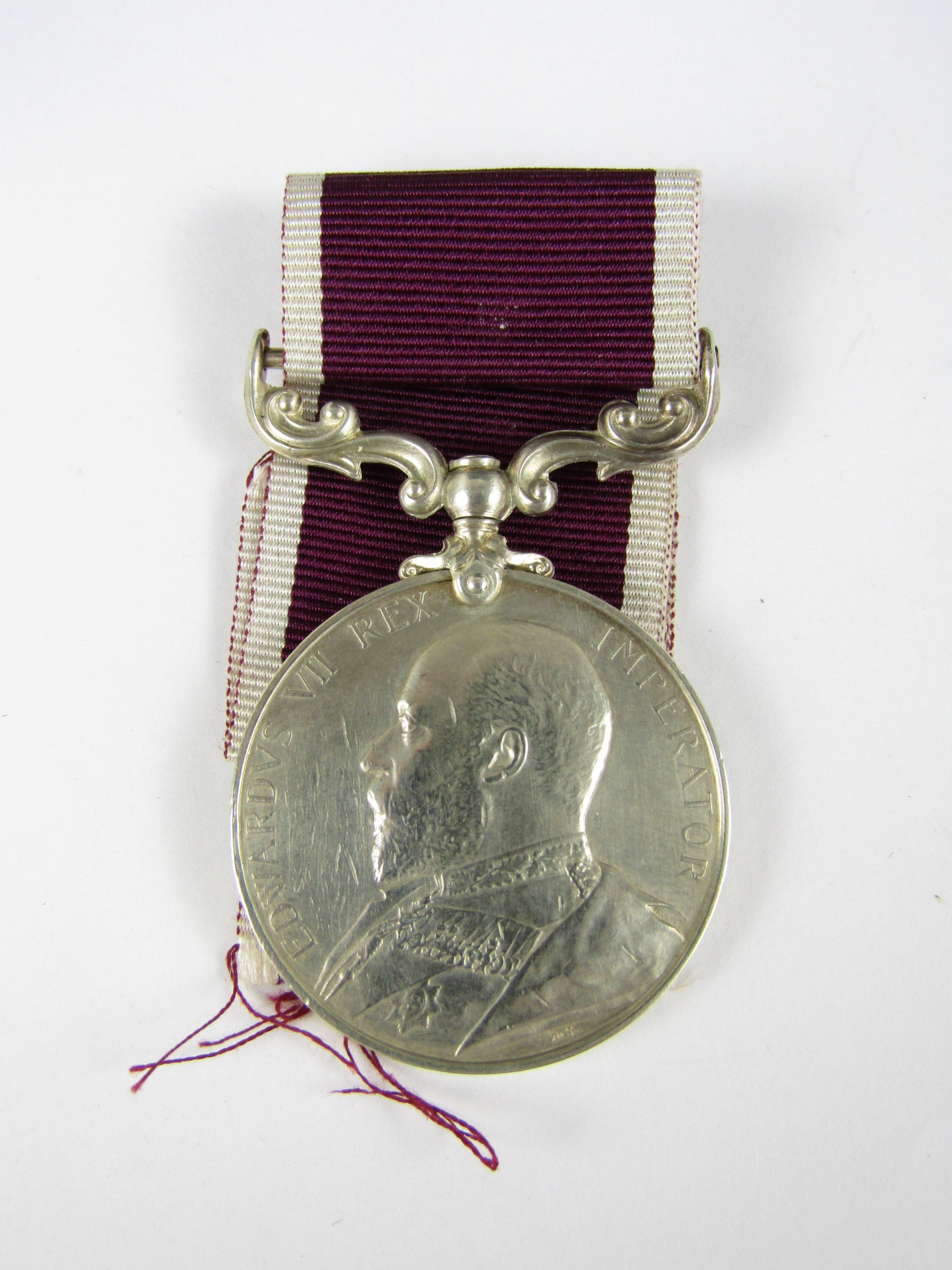Lot 6 - An Edward VII Army Long Service and Good Conduct Medal to 2177 C SJT G Houlden, Gordon Highlanders