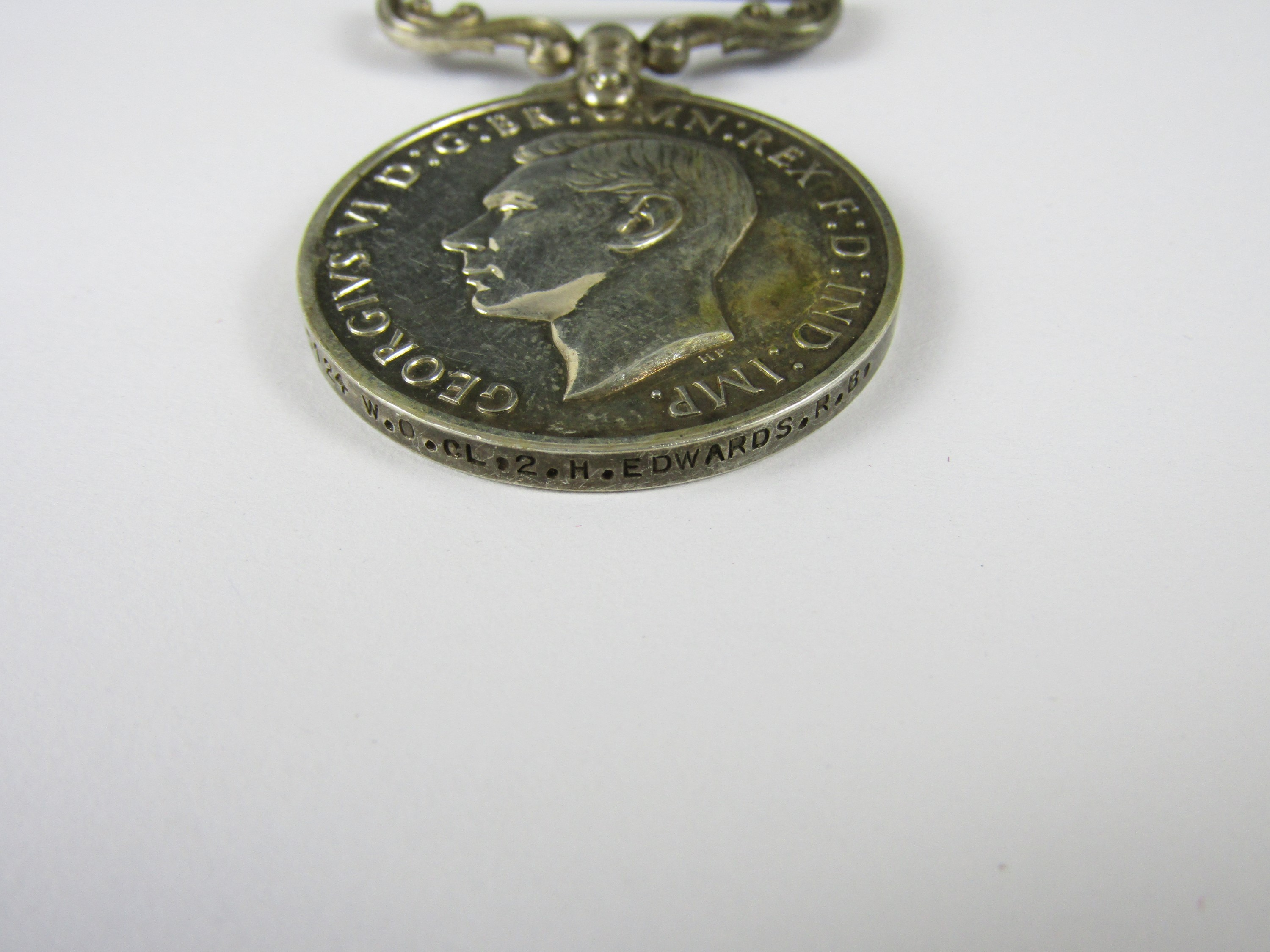 Lot 24 - A George VI Meritorious Service Medal (1937-48) to 6905124 W O CL 2, H Edwards, Rifle Brigade
