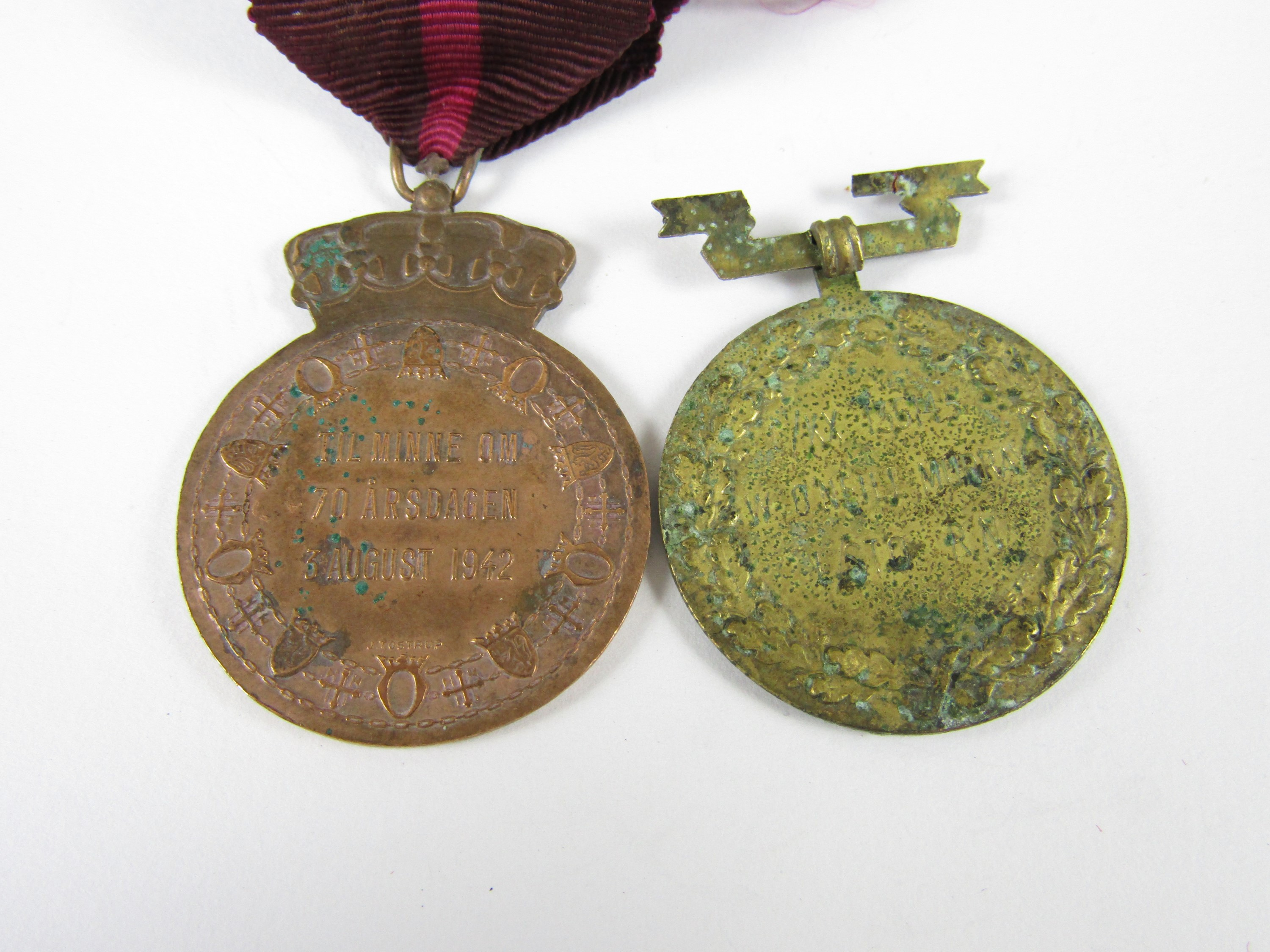 Lot 33 - A Norwegian King Haakon VII's Liberty Medal to C/KX 134145 W O'Neil Murray, 1 Sto, Royal Navy,