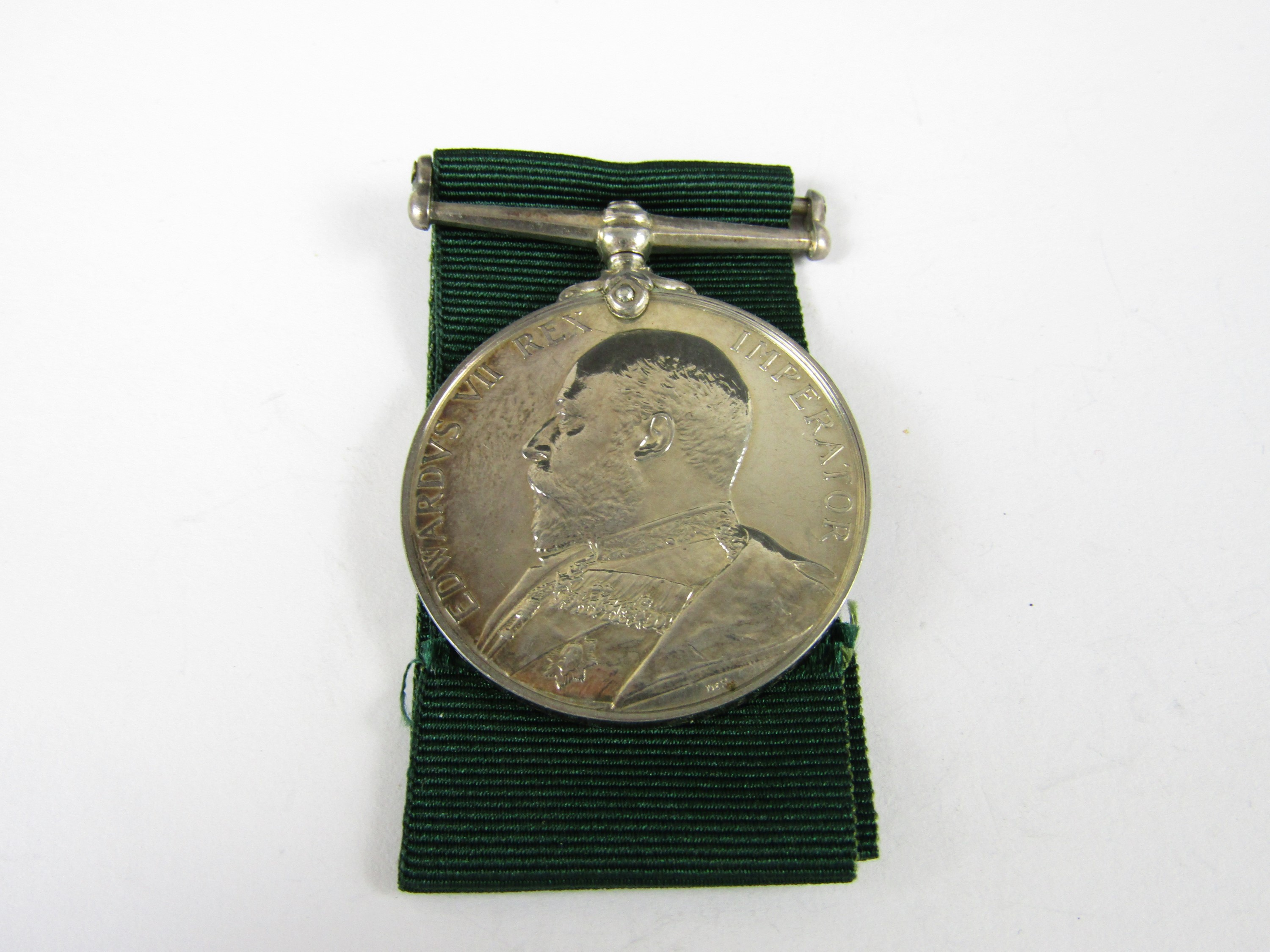 Lot 60 - An Edwardian Volunteer Long Service medal to 6508 Sgt J Jolly, 1st V B Gordon Highrs