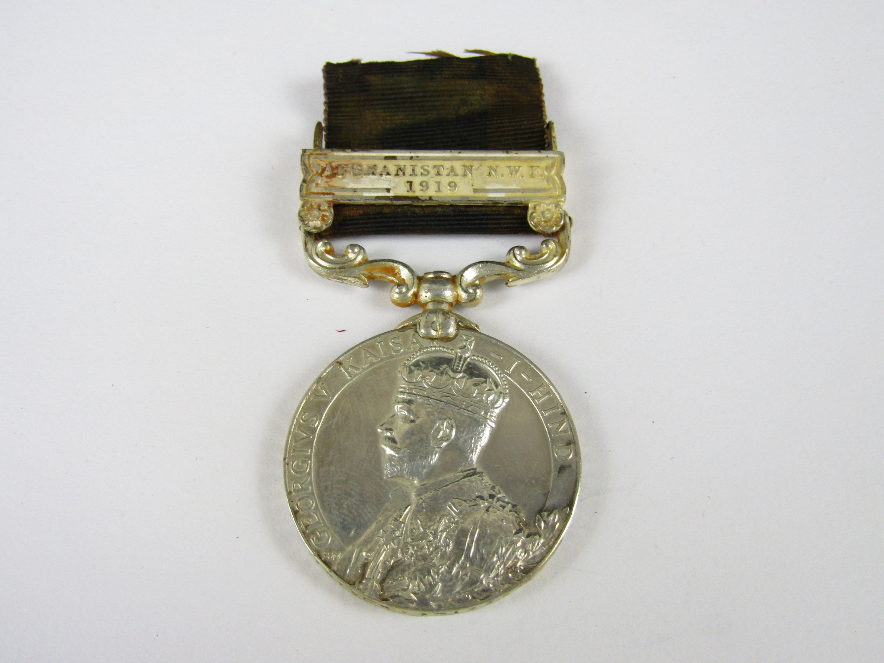 Lot 31 - A George V India General Service Medal to Lieut J A Simpson, 3-124 Baluch Infantry