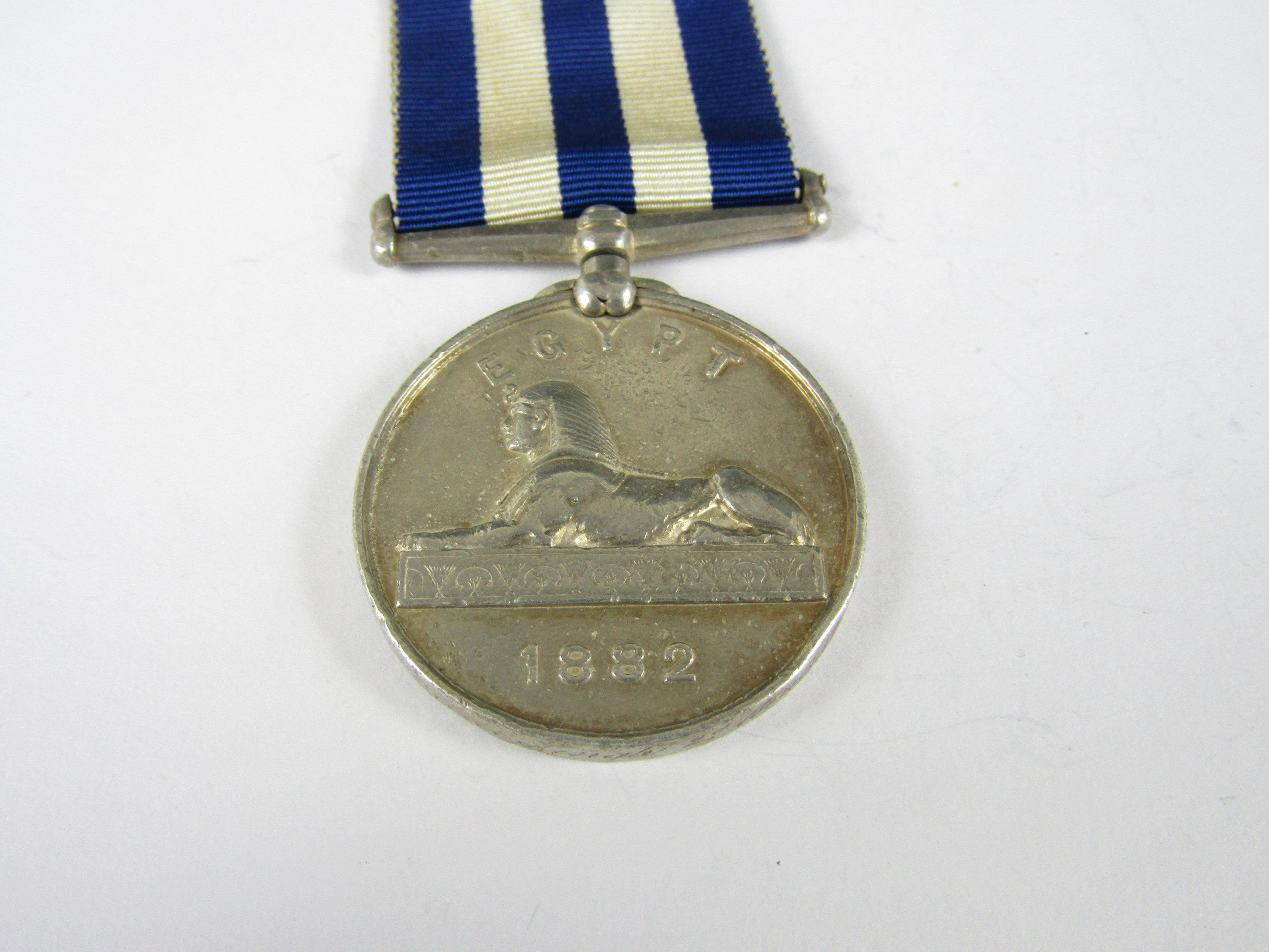 Lot 59 - An 1882 Egypt Medal to *** Prondur Singh, 2nd Bengal Cavry
