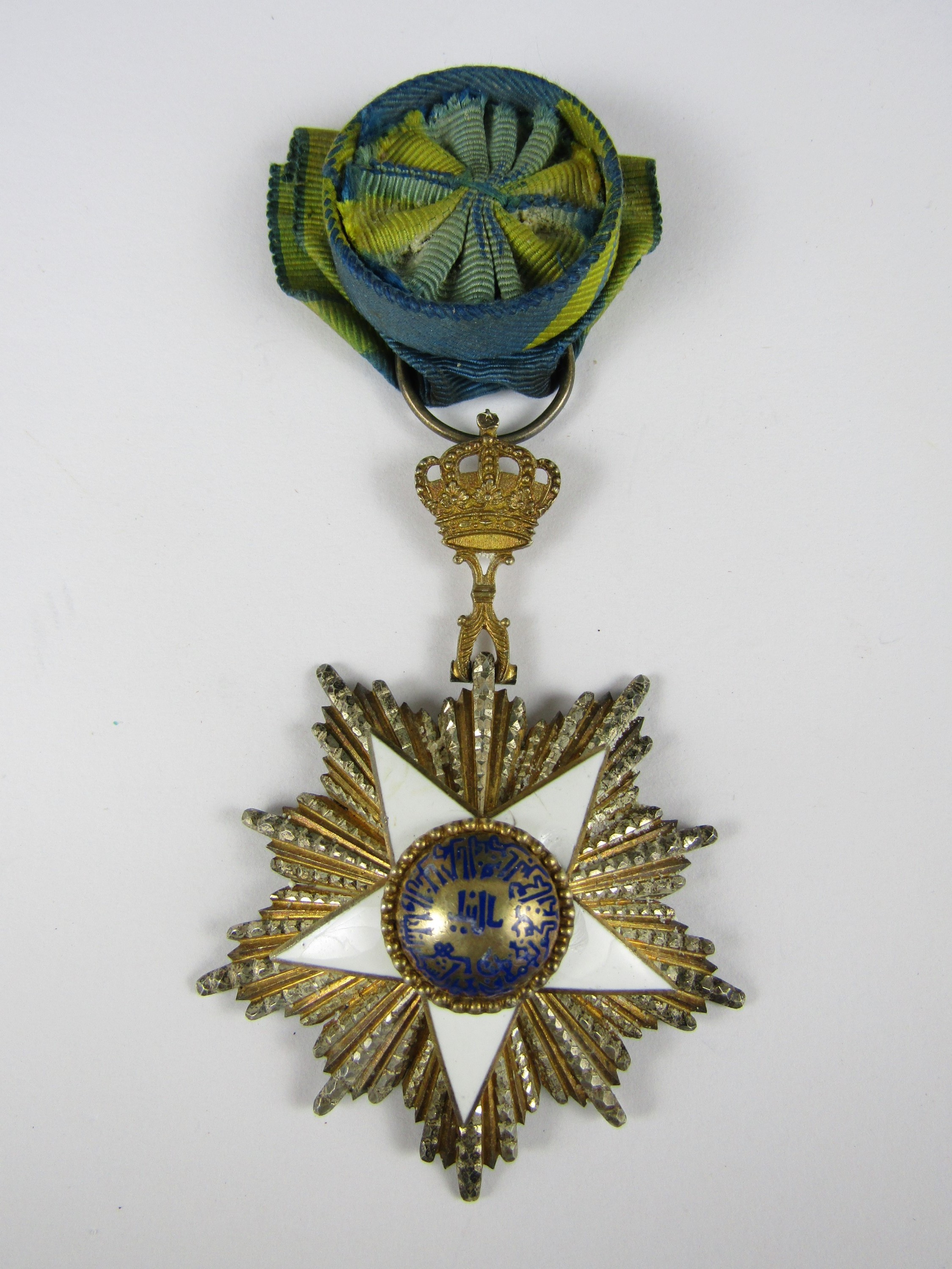 Lot 36 - An Egyptian Order of the Nile by Lattes, circa 1930