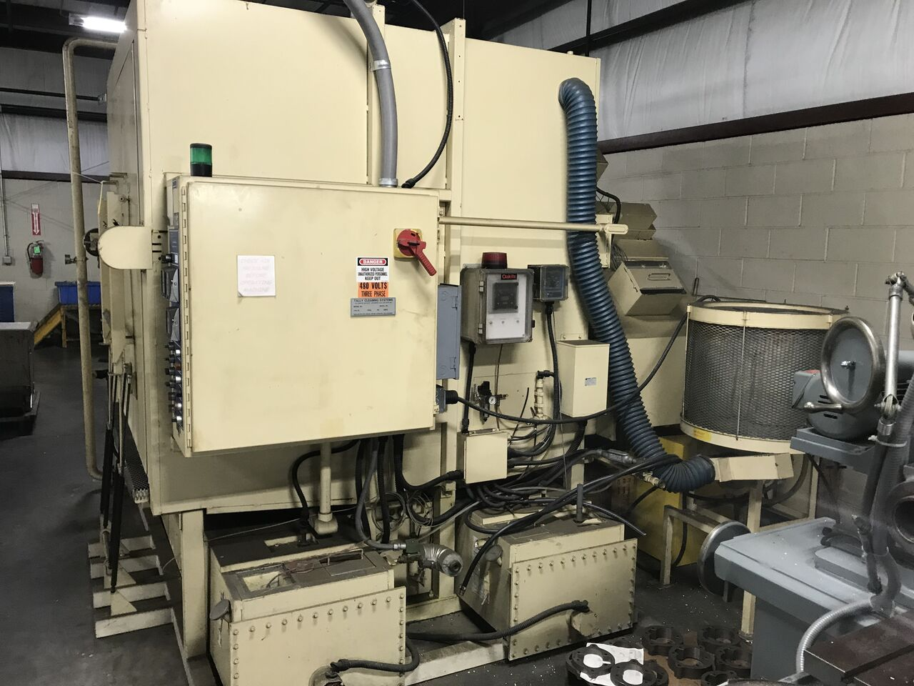 Lot 7 - Tally Cleaning Turbo Spray Washer, Model # = TSW60, Serial # = 963, Volts = 480, Amps = 150