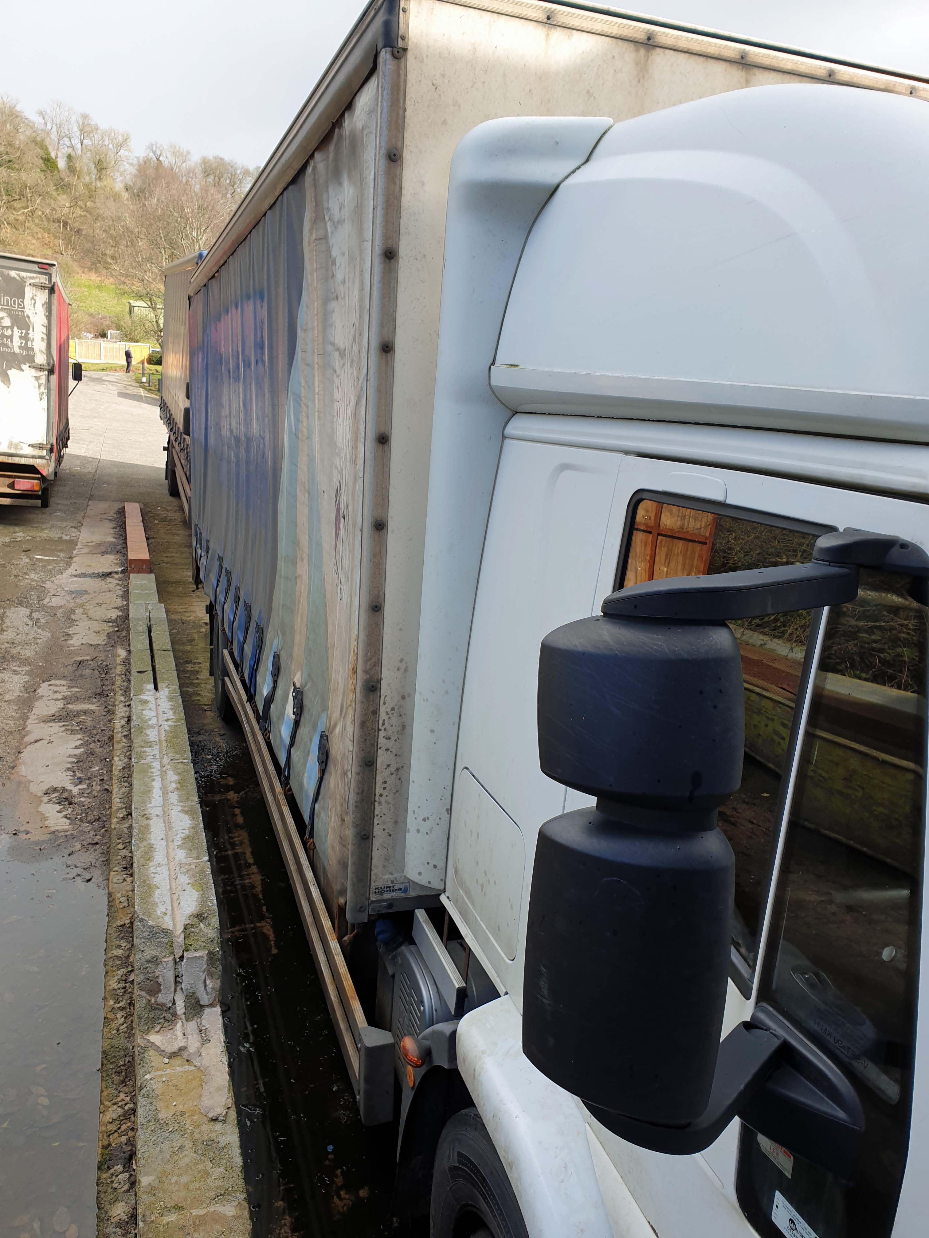 An IVECO Cargo ML 180E25 5880cc Euro5 4x2 18-Tonne Curtainside Truck, Registration No. GN59 CCO, - Image 3 of 9