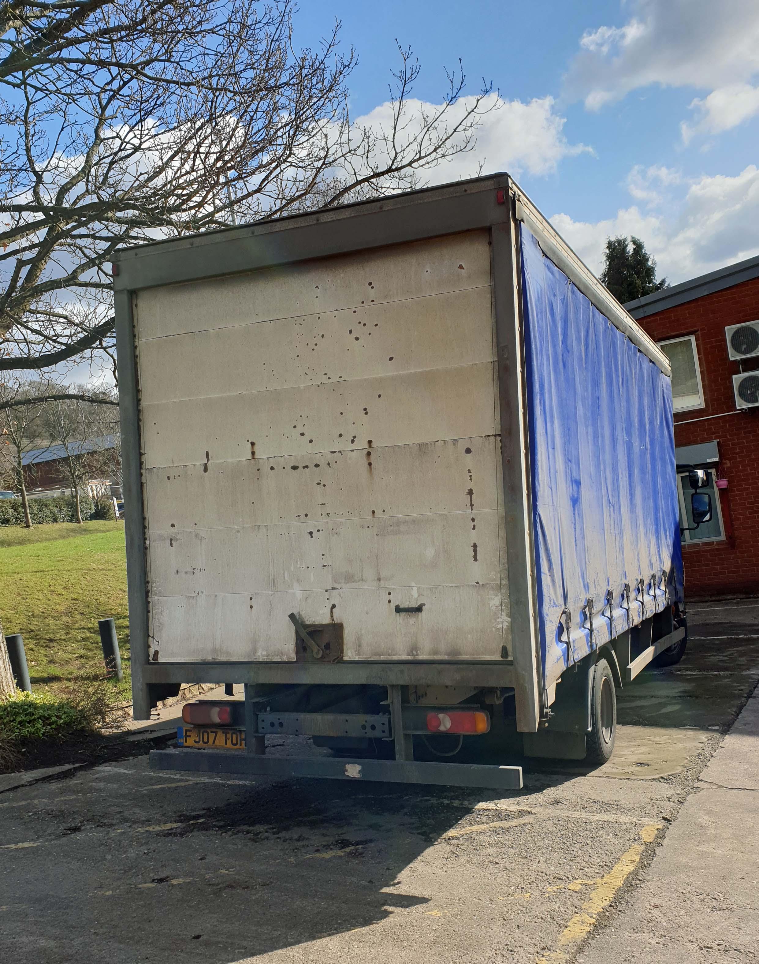 A DAF FA LF45.160 08 E 4500cc 4x2 7.5-Tonne Curtainside Truck, Registration No. FJ07 TOH, First - Image 3 of 9