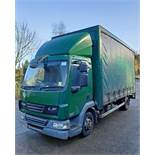 A DAF FA LF45.140 08 E 4461CC Euro4 4x2 7.5-Tonne Curtainside Truck, Registration No. RV59 FVA,