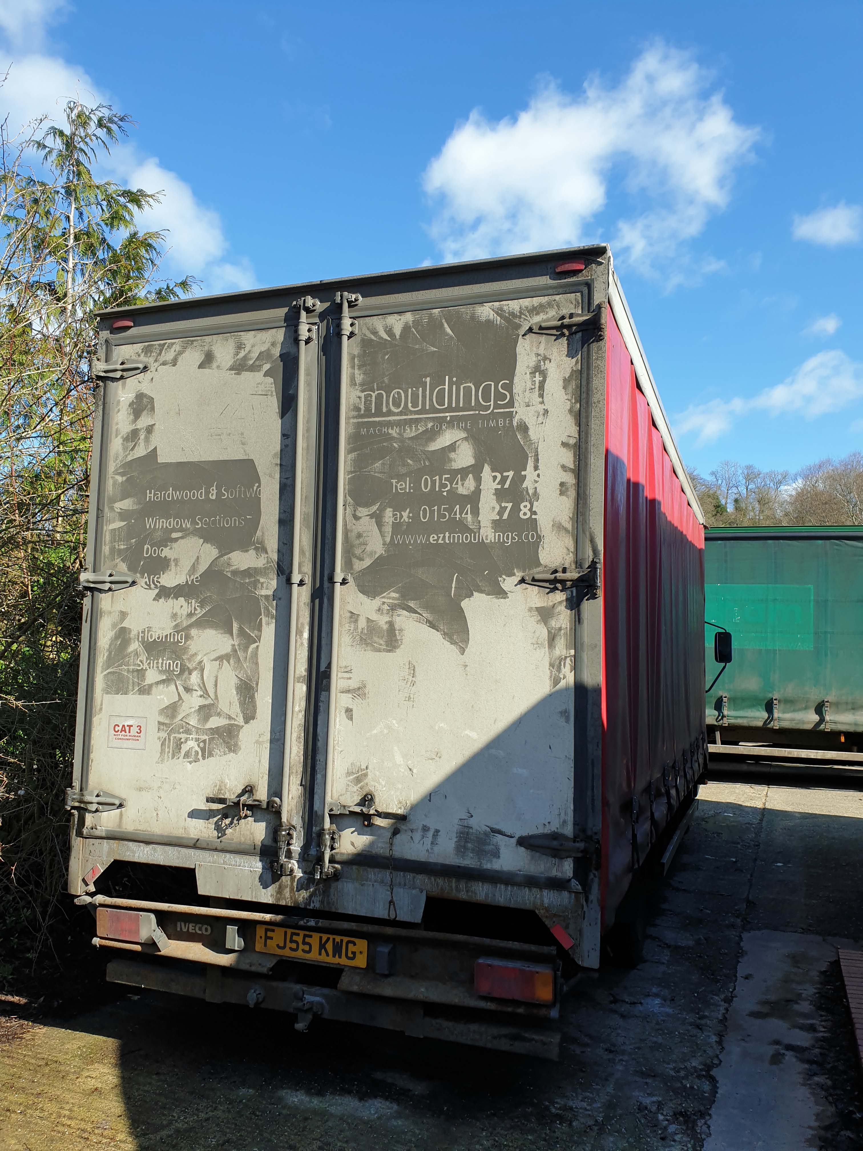 An IVECO Eurocargo ML 75 E17 3920cc 4x2 7.5-Tonne Curtainside Truck, Registration No. FJ55 KWG, - Image 3 of 5