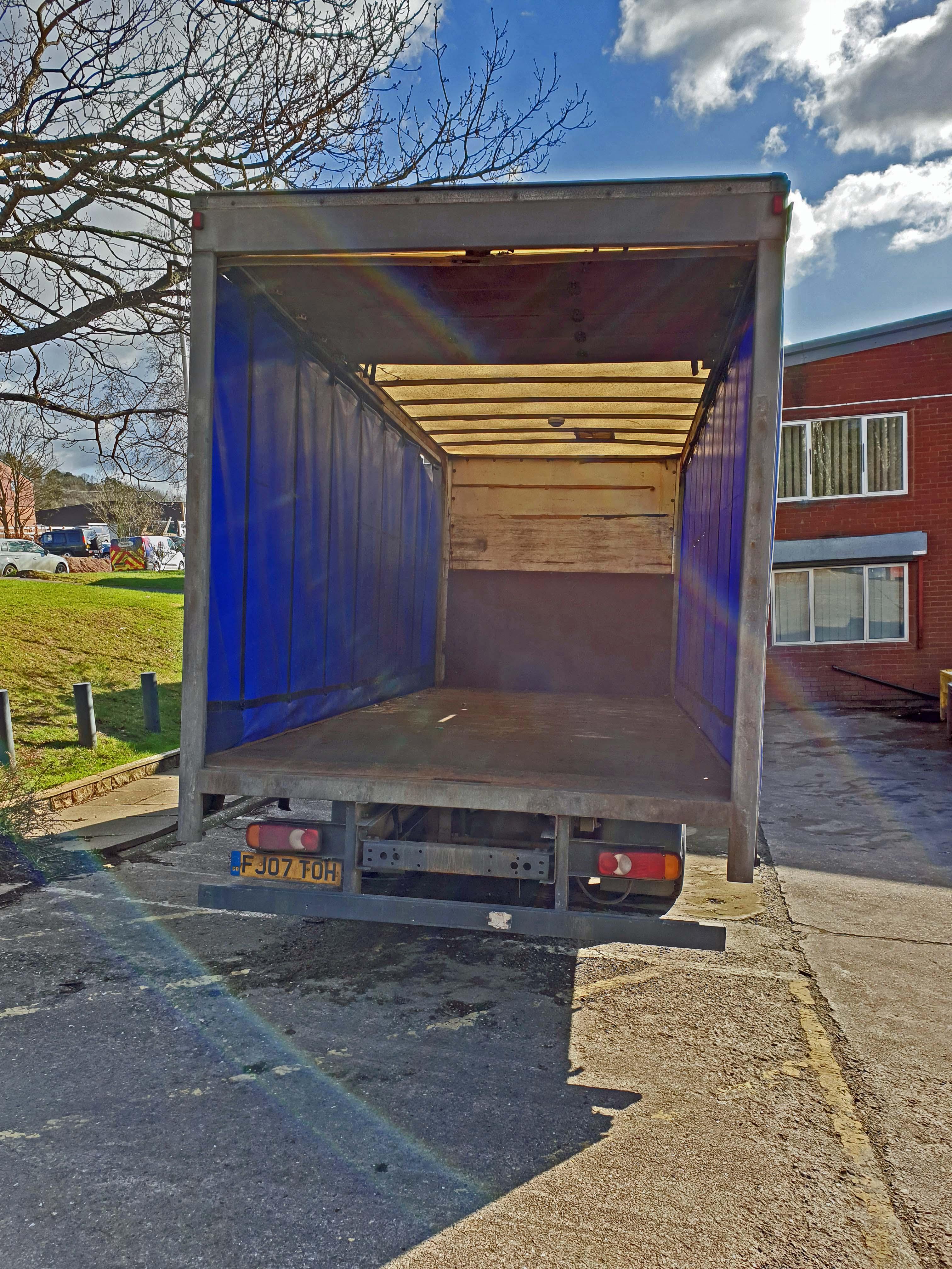 A DAF FA LF45.160 08 E 4500cc 4x2 7.5-Tonne Curtainside Truck, Registration No. FJ07 TOH, First - Image 4 of 9