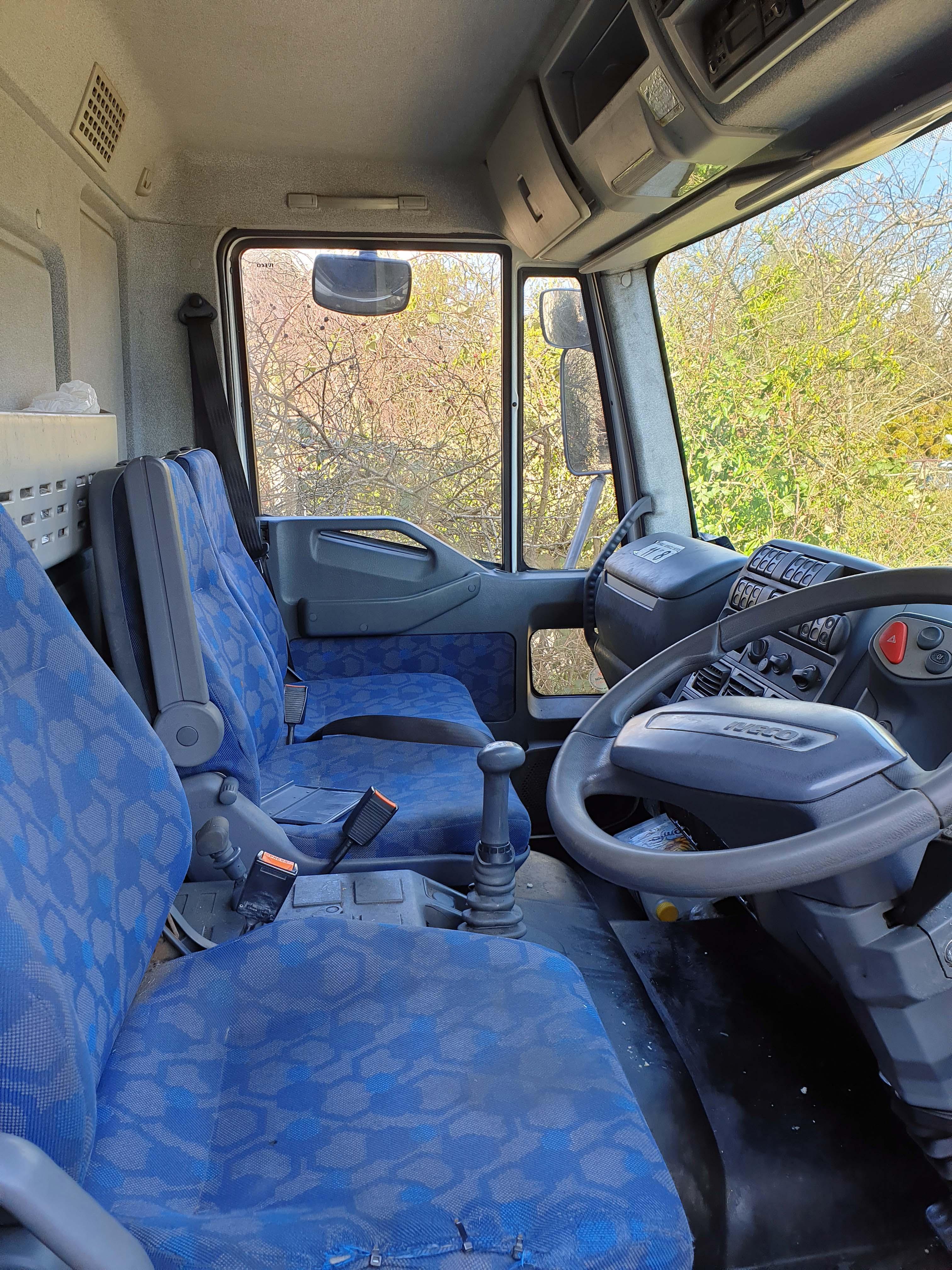 An IVECO Eurocargo ML 75 E17 3920cc 4x2 7.5-Tonne Curtainside Truck, Registration No. FJ55 KWG, - Image 5 of 5