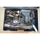 "Bosch BoschHammer Model 11247 1-9/16"" Corded Combination Hammer w/ Case and Bits"
