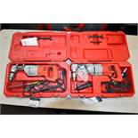 "Milwaukee HD 1/2"" Corded Right Angle Drill Catalog Number 1001 (Drill) Catalog Number 48-06-2871 (Ri"