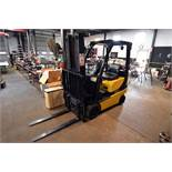 Yale Model GLC030VXNUSEC82, 3,000 lbs. Propane Forklift