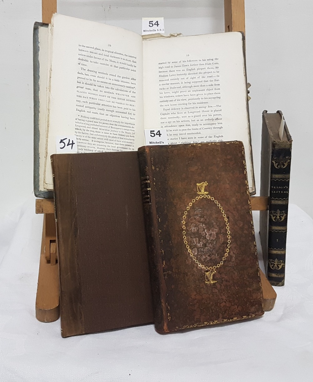 "Lot 54 - 4 Books – 1799 ""A List of Officers of the Regiments and Battalions of Militia"", ""Reflections and"