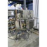 HYDRATEC PROCESS STAINLESS STEEL, DOUBLE MOTION SCRAPE SURFACE AGITATED JACKETED KETTLE.