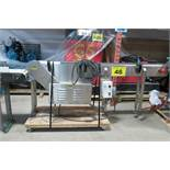 "PACKAIR, MT/PH/SS, 6"" x 84"", STAINLESS STEEL, VARIABLE SPEED CONVEYOR, S/N 2998"