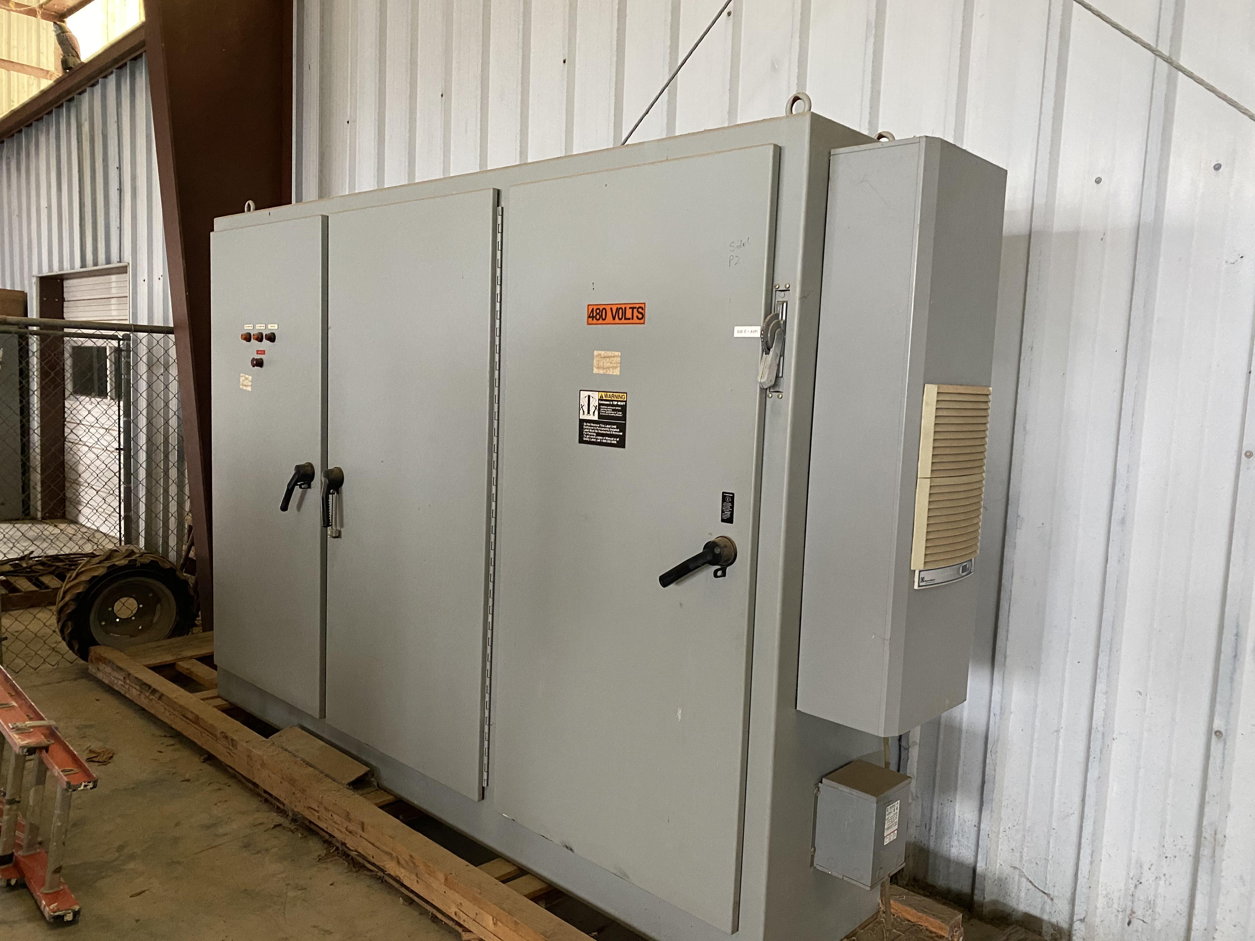 3 Door Conveyor Control Panel