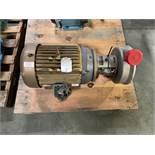 Tri Clover 15HP Centrifugal Pump