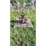 Vintage Garden Roller and Grass Harrow