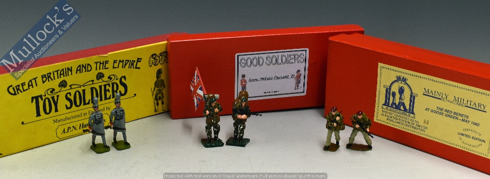 Lot 57 - Selection of Toy Soldiers to include Great Britain and the empire by APN Humphries, Mainly