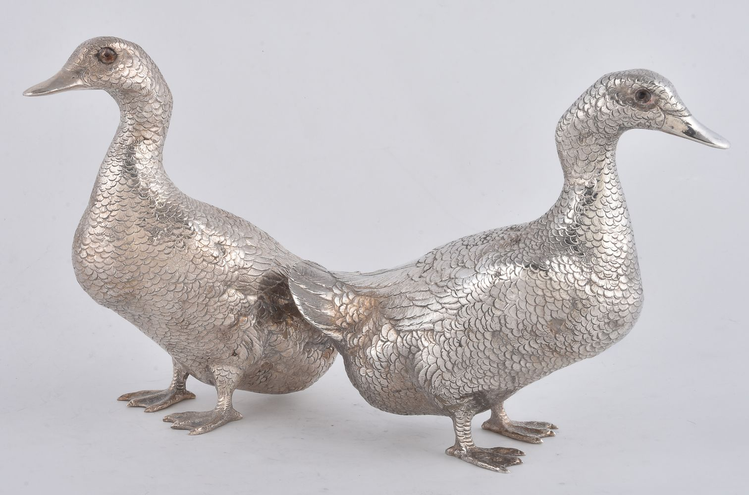 Lot 64 - A pair of Continental models of ducks