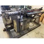 Shuster 1AV-107-54 wire straightening and cut off machine