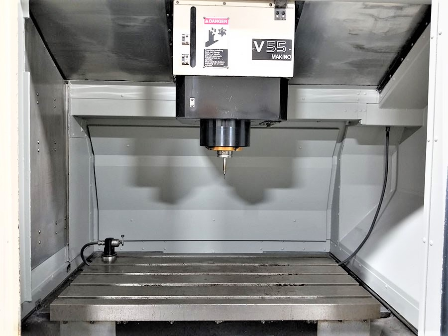 Makino V55 Precision 3-Axis CNC Vertical Machining Center, S/N 864, New 2000 - Image 6 of 14