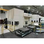 Cincinnati HPC1000ZF, Tag Plate HPC-1000XT Full 4-Axis CNC Horizontal Machining Center, Rebuilt 2014