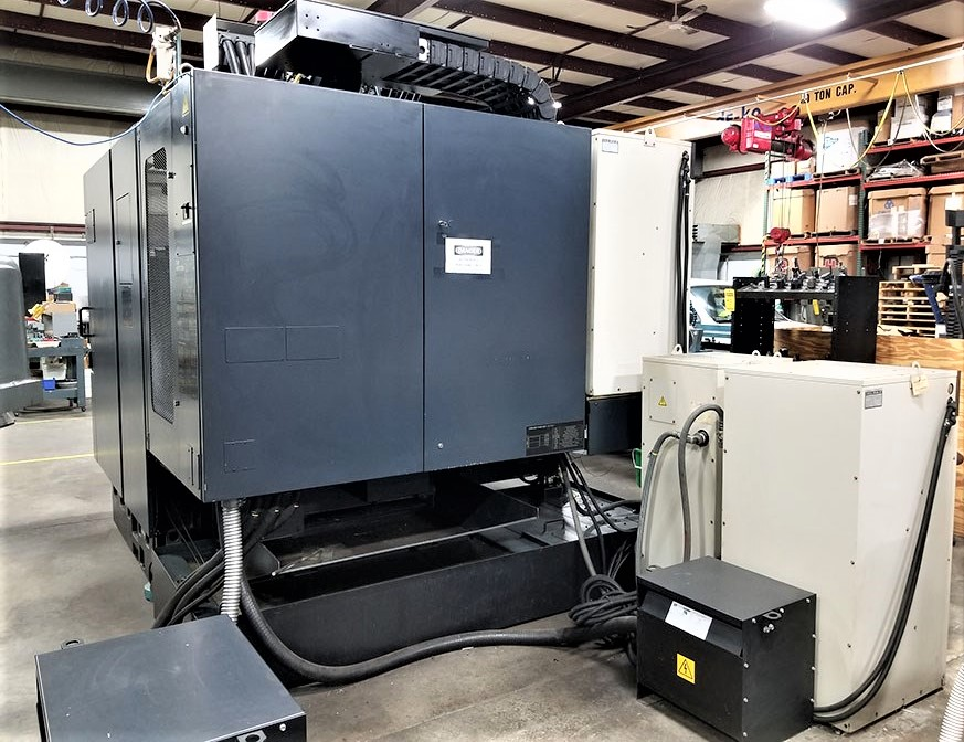 Makino V55 Precision 3-Axis CNC Vertical Machining Center, S/N 864, New 2000 - Image 7 of 14