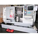 Haas TL-15 CNC Lathe, w/Sub Spindle, S/N 65304, New 2002