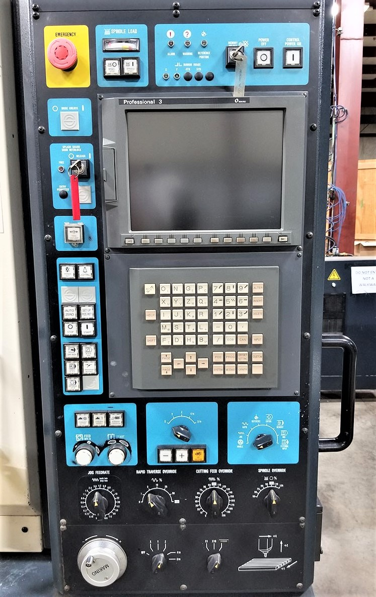 Makino V55 Precision 3-Axis CNC Vertical Machining Center, S/N 864, New 2000 - Image 4 of 14
