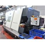 MIYANO MODEL ABX-64THY TWIN SPINDLE TRIPLE TURRET MULTI-AXIS CNC PRECISION TURNING CENTER LATHE 2012