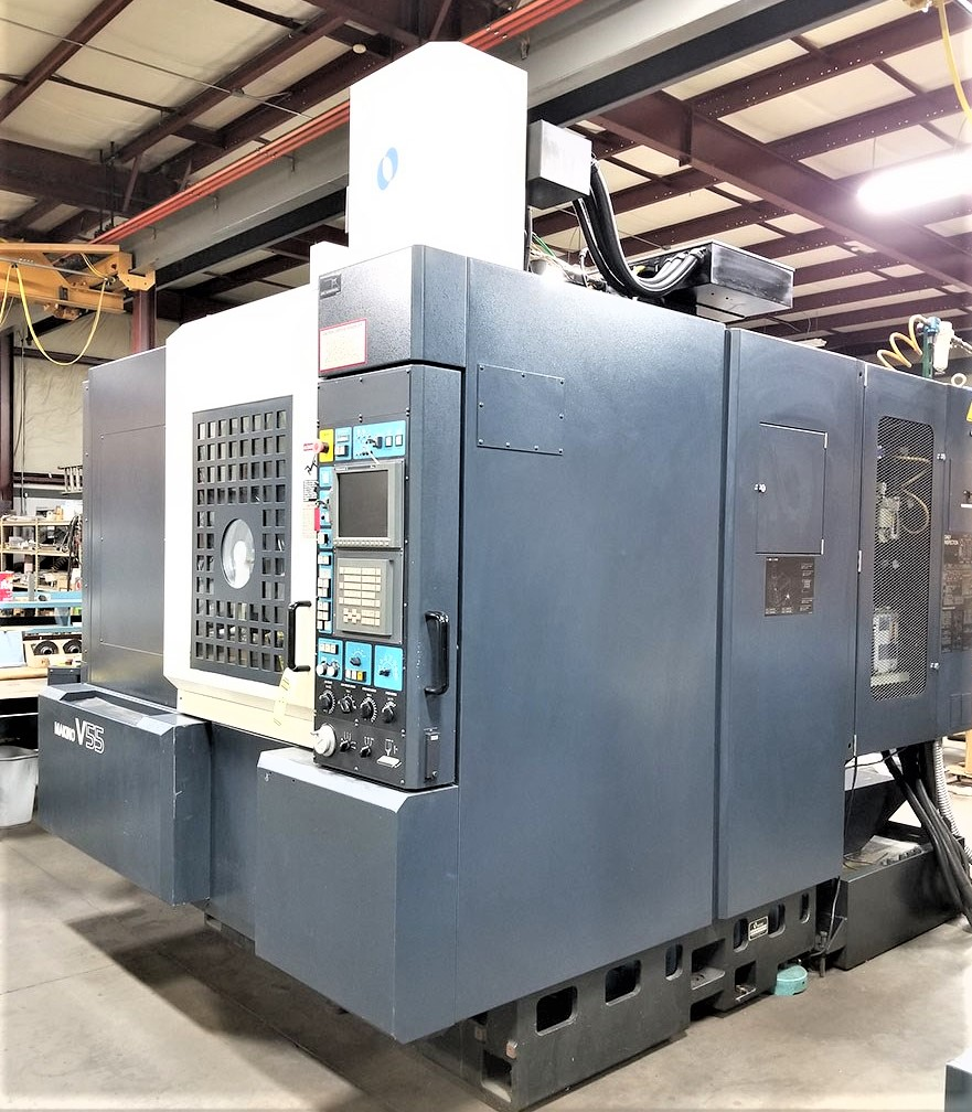 Makino V55 Precision 3-Axis CNC Vertical Machining Center, S/N 864, New 2000 - Image 12 of 14